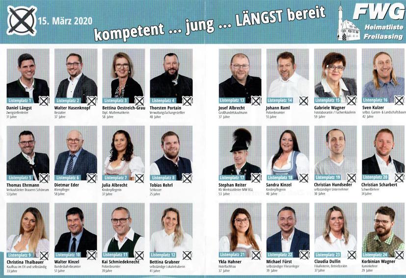 FWG Kandidaten Flyer