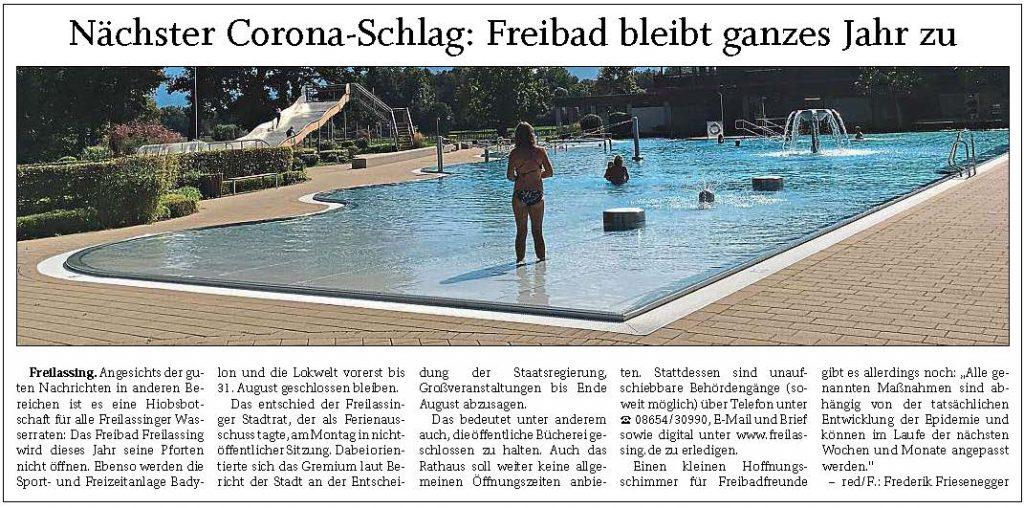Freibad Corona